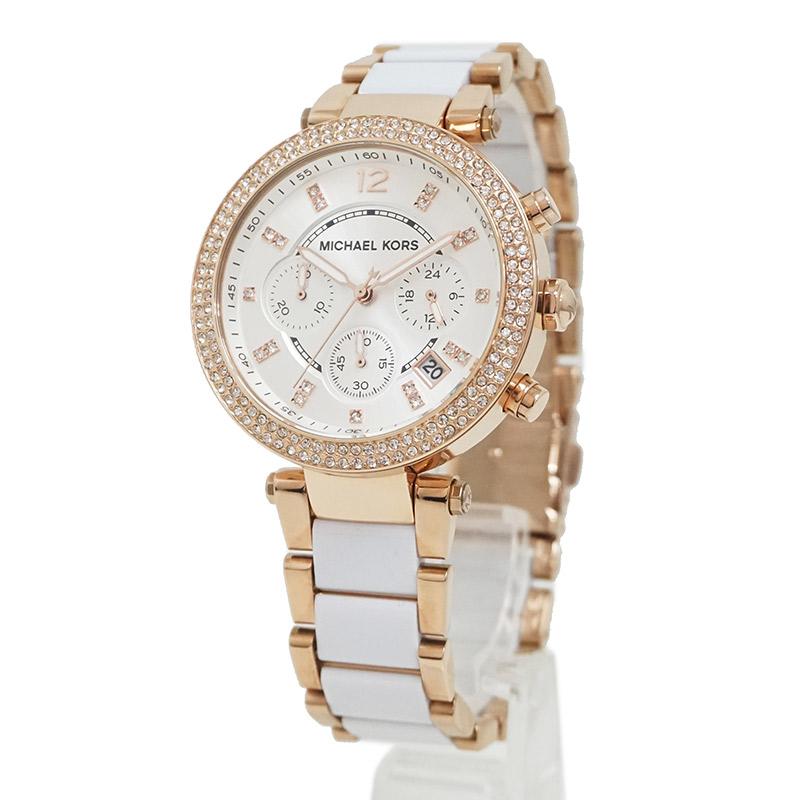 52e4dacb78 BrandCity  With Michael Kors parka chronograph MK-5774 quartz Lady s ...