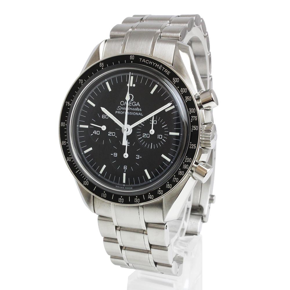 【美品】オメガ スピードマスター プロフェッショナル クロノグラフ 手巻き メンズ 腕時計 3572.50