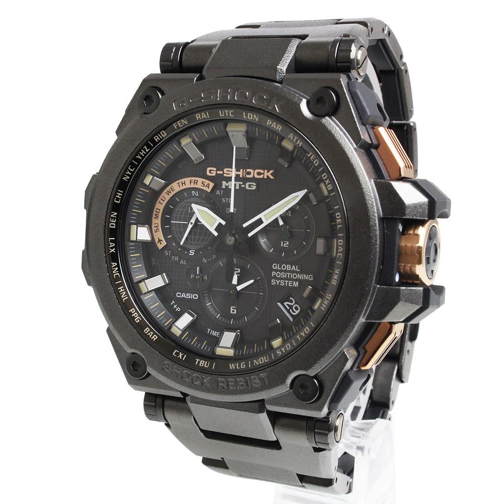 【新品・未使用品】カシオ Gショック ハイブリッド 電波ソーラー メンズ 腕時計 1000本限定 MTG-G1000RB-1AJF 箱付