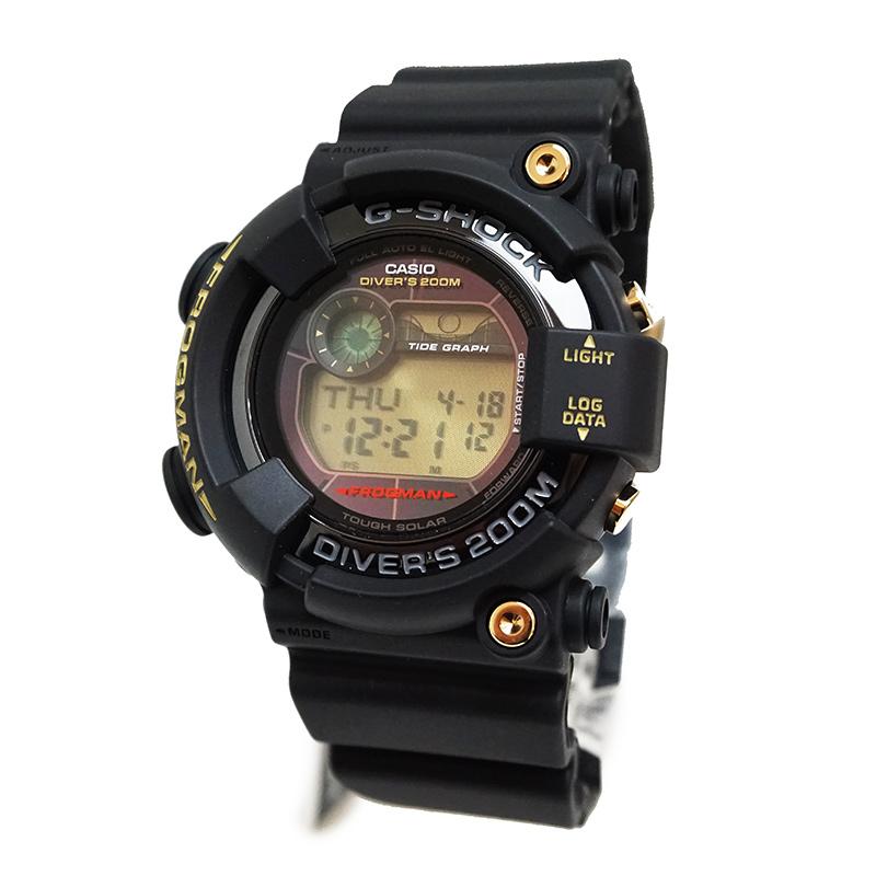【新品・未使用品】カシオ Gショック フロッグマン 35周年記念モデル GF-8235D-1BJR ラバー ソーラークォーツ メンズ 腕時計 ブラック 黒 箱付