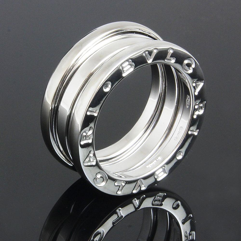 最高の 【美品】ブルガリ B zero 1 ビー ゼロワン 3バンド リング 指輪 750 K18WG ホワイトゴールド #47 7号 AN191024 箱付, エサシシ ca9b7a16