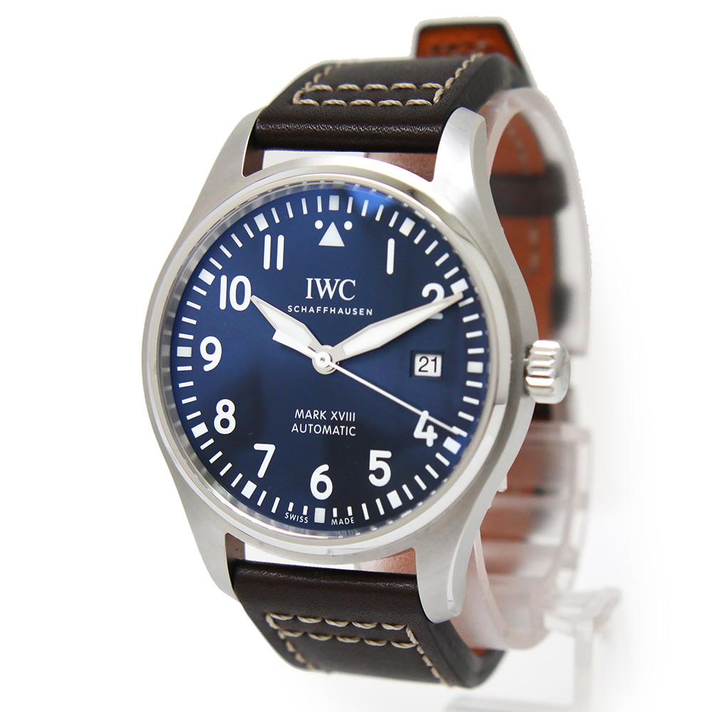 【未使用 展示品】IWC パイロット・ウォッチ・マーク XVIII プティ・プランス 自動巻き メンズ 腕時計 IW327010 箱付