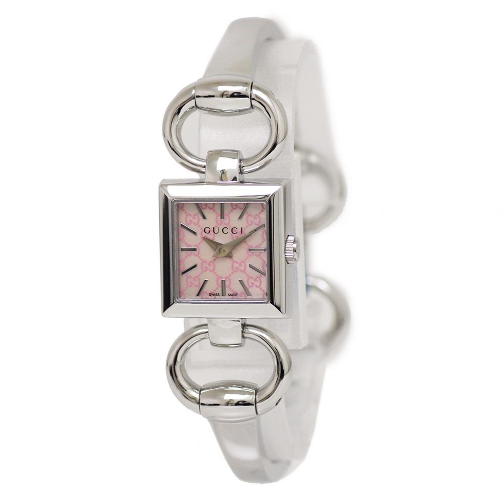 【新品・未使用品】グッチ トルナヴォーニ シェル文字盤 クオーツ レディース 腕時計 YA120515 箱付