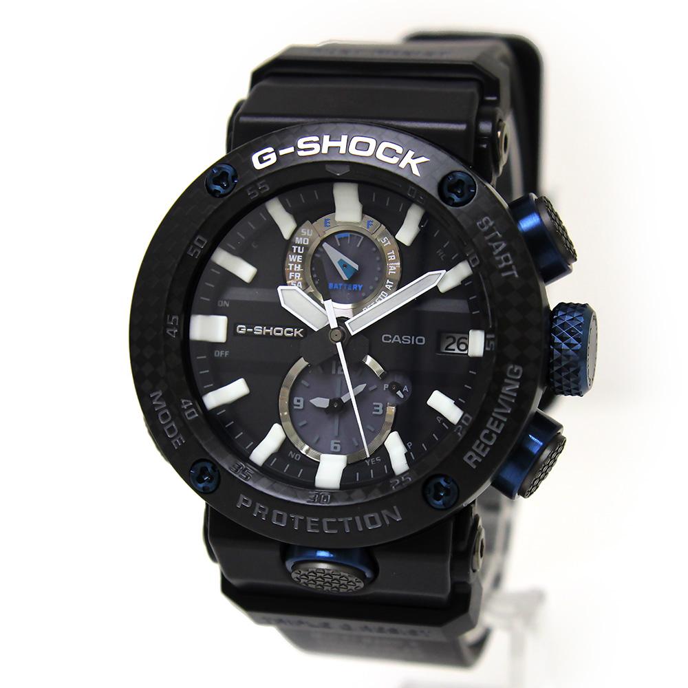 【新品・未使用品】カシオ Gショック グラビティマスター Bluetooth 搭載 電波ソーラー メンズ 腕時計 ブラック 黒 GWR-B1000-1A1JF 箱付