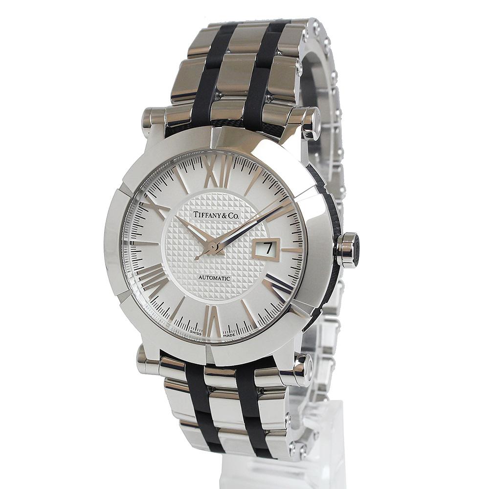 【美品】ティファニー アトラス ジェント 自動巻き メンズ 腕時計 Z1000.70.12A21A00A 箱付