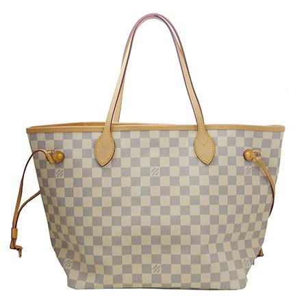 未使用【LOUIS VUITTON】ルイヴィトン ダミエ アズール ネヴァーフルMM N51107 レディース トートバッグ 鞄 バッグ