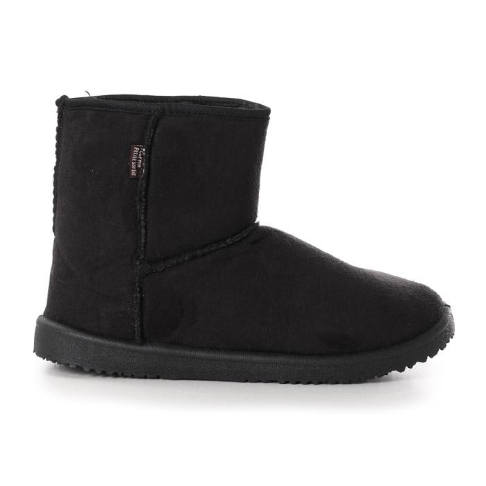 ムートンブーツ レディース ブーツ ショート丈 かわいい あったか フェイク ファー ペタンコ 秋冬 ショートブーツ 靴 インヒール シークレットヒール 楽ちん