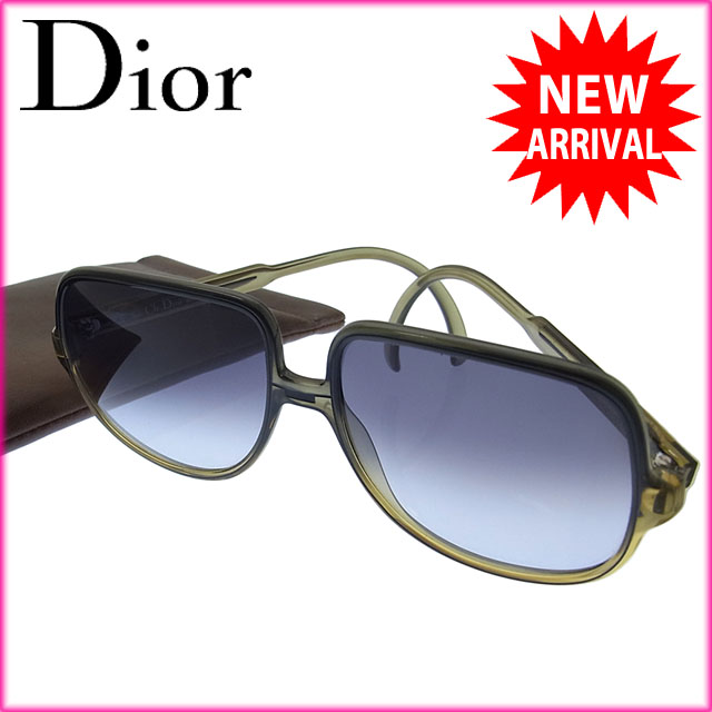 5e4acb5f936 Christian Dior Christian Dior sunglasses-friendly men s vintage logo clear  black x H162 green series plastic (capable) (products  amp  delivery)