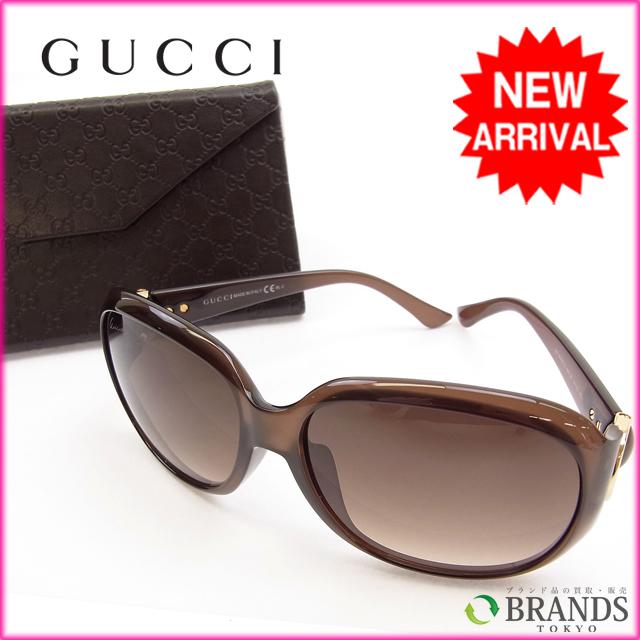 【中古】 グッチ サングラス Gucci ブラウン Y020s .