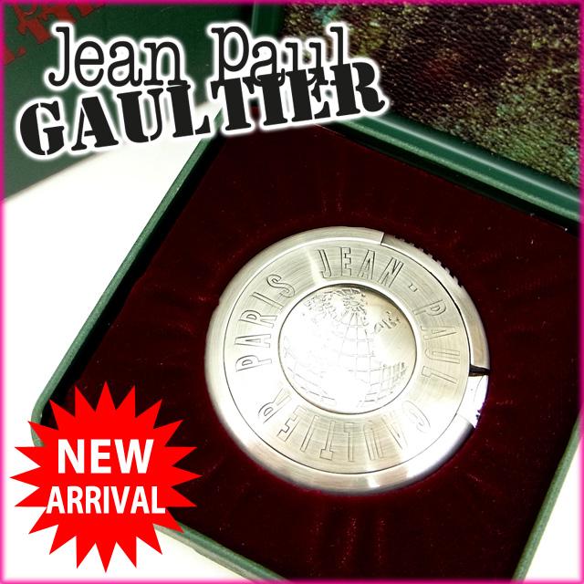 【中古】 ジャンポール・ゴルチェ Jean Paul Gaultier ライター /レディースメンズ可 UFOライター SB地図 シルバー メタル (あす楽対応)(奇跡的入荷・中古) Y531 .