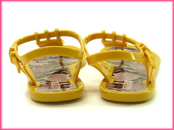 ec9e9a5fe64f 中古】 フルラ FURLA サンダル シューズ 靴 レディース トングデザイン ...