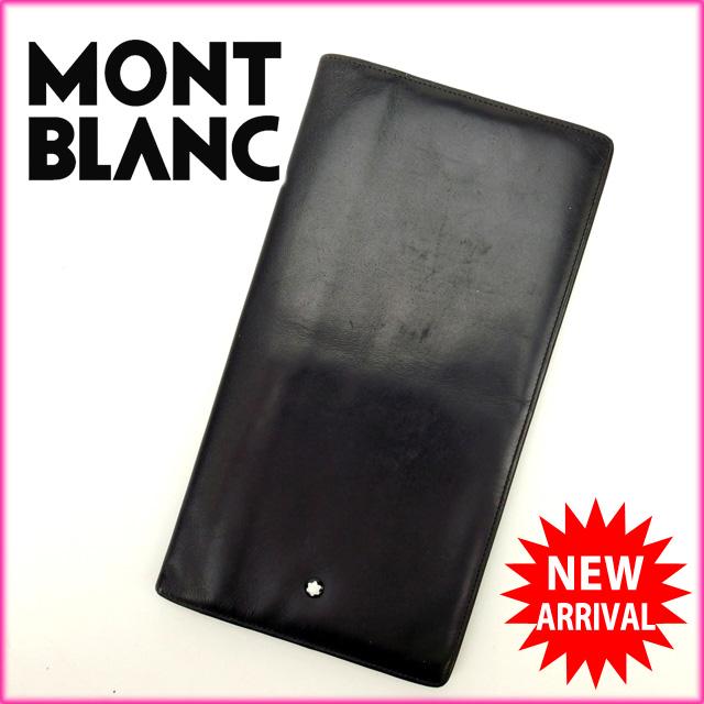 モンブラン MONTBLANC 長札入れ レディース ブラック T13237PkiuXZ