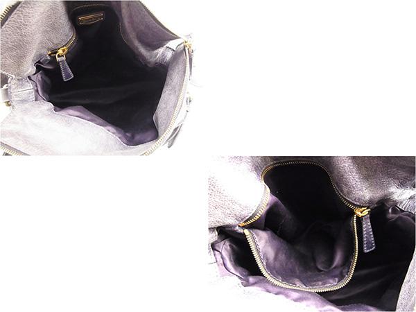 ミュウミュウ miu miu handbag 2WAY shoulder Lady s ribbon motif purple leather  popularity sale T643. 7fd75a9af4816