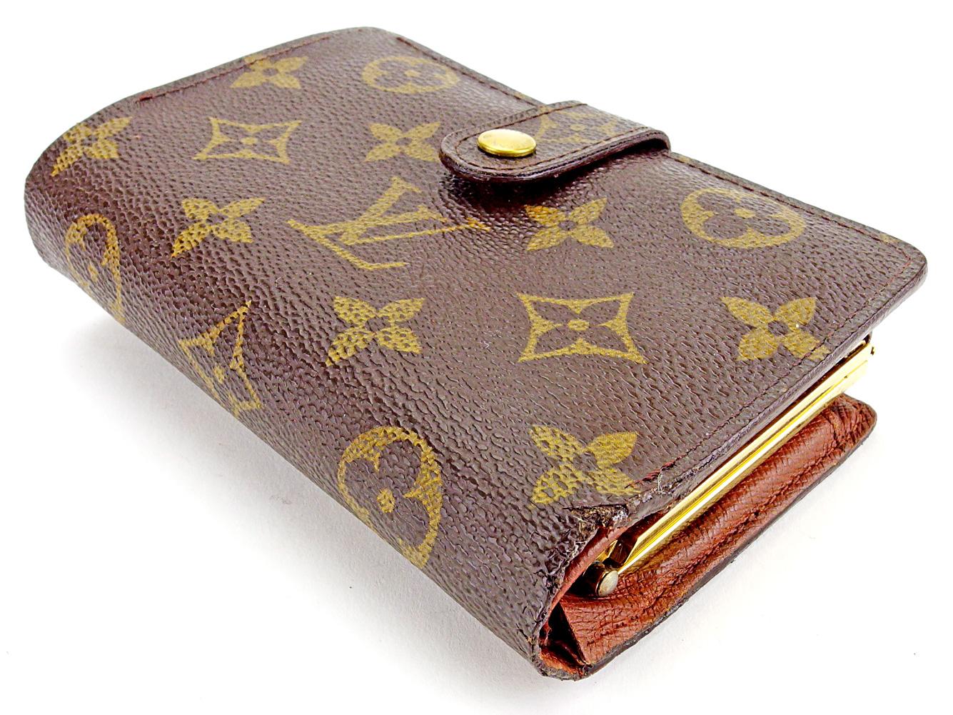 innovative design 1bd97 19855 日本最級 【中古】 ルイ ヴィトン Louis Vuitton がま口 財布 二 ...