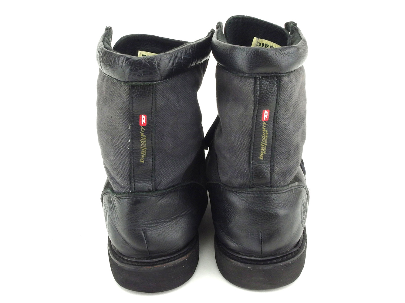 b55d70b2532c71 Knit diesel DIESEL boots shoes shoes  men s  28 black gray gray canvas X  leather popularity sale B983