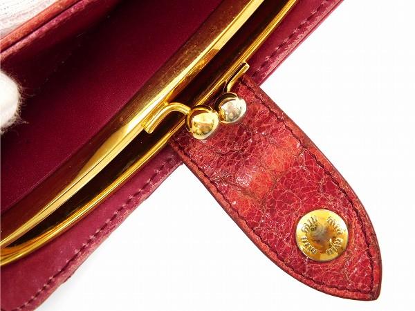 timeless design 65639 9478d ミュウミュウ スーパー miu miu 二つ折り財布 がま口財布 ...
