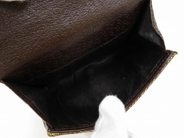 3362fa4d7411 フェンディ】 シャネル グッチ GUCCI 二つ折り財布 Wホック財布 ...