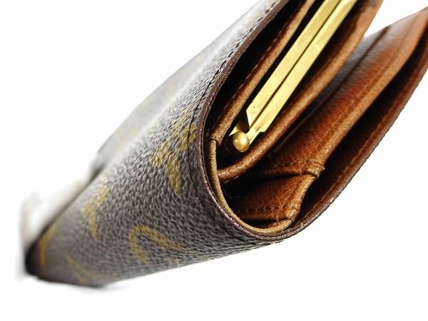 50b4aa3fab71 ポルトフォイユ・ヴィエノワ レディース がま口 二つ折り財布 VUITTON ...