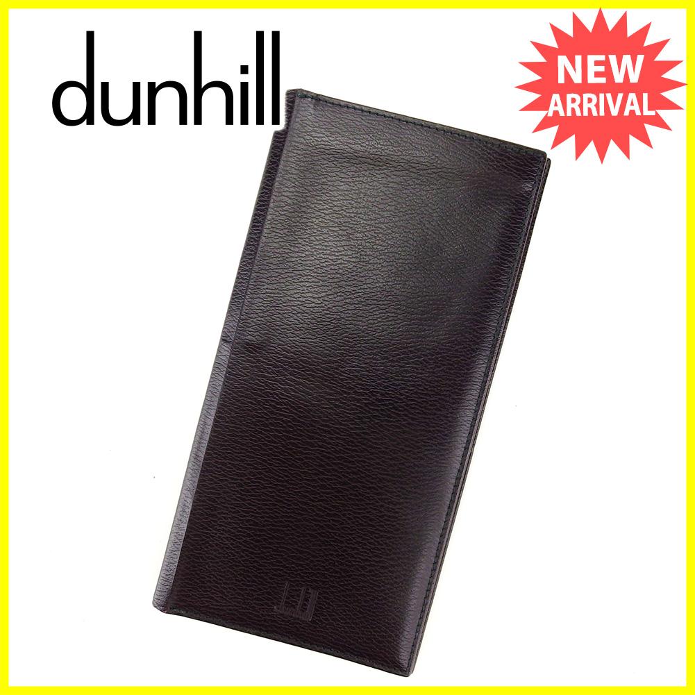 c992bf7d5b56 スーパー ダンヒル dunhill 長札入れ 二つ折り 財布 メンズ可 シャネル ...