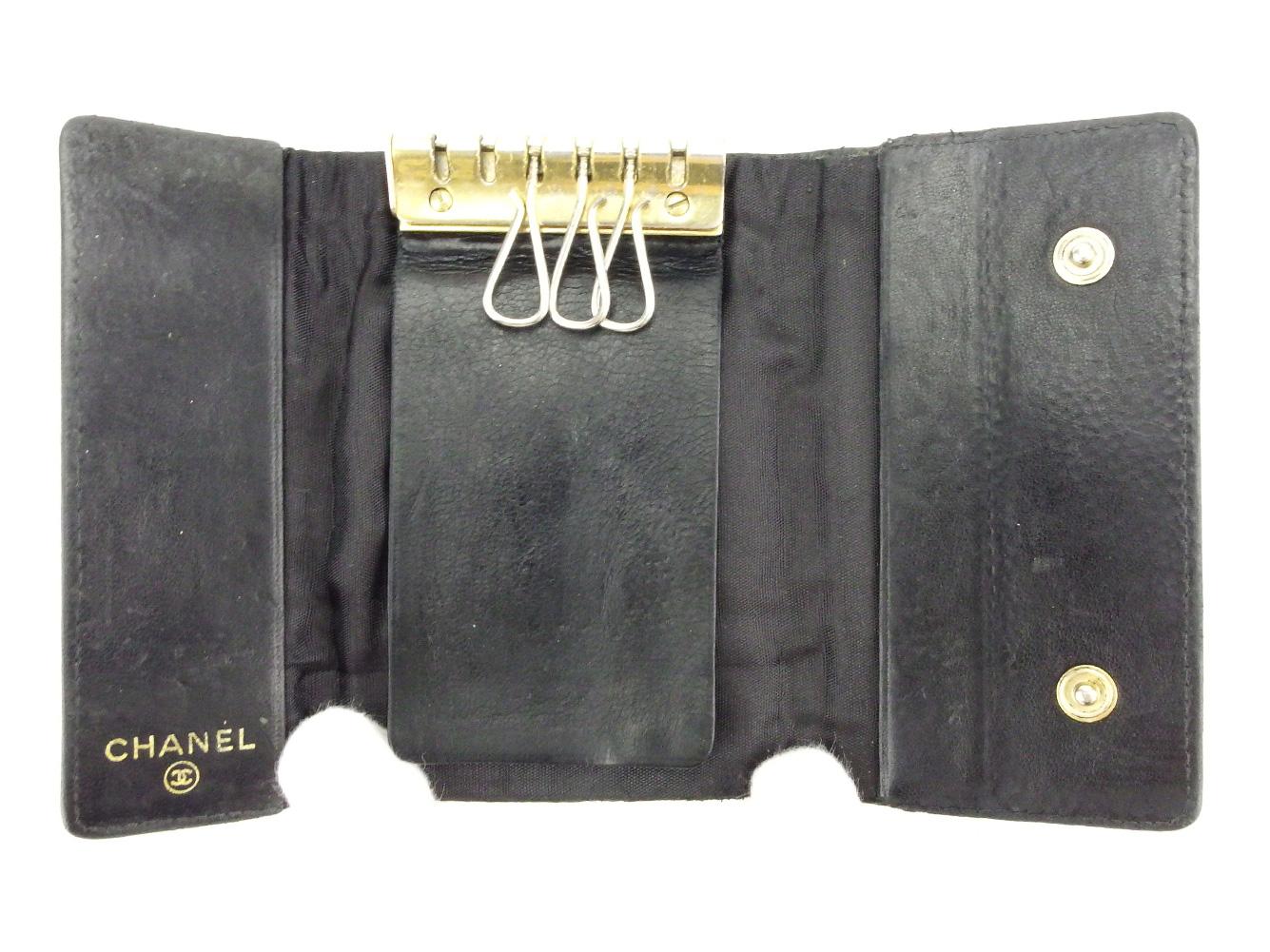 5ccc37690eac シャネル CHANEL キーケース ブランド財布 6連キーケース グッチ バッグ ...