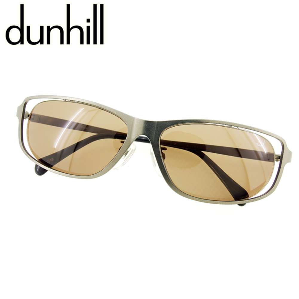 d0631aa86060 Dunhill dunhill sunglasses eyeware men's possible silver black popularity  sale E1235.