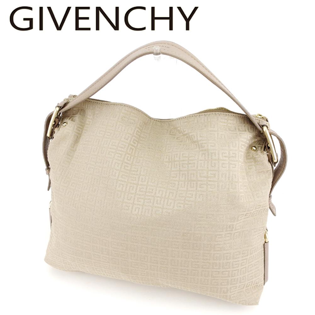 【中古】 ジバンシィ Givenchy ショルダーバッグ バック ワンショルダー ベージュ メンズ可 T7395s .