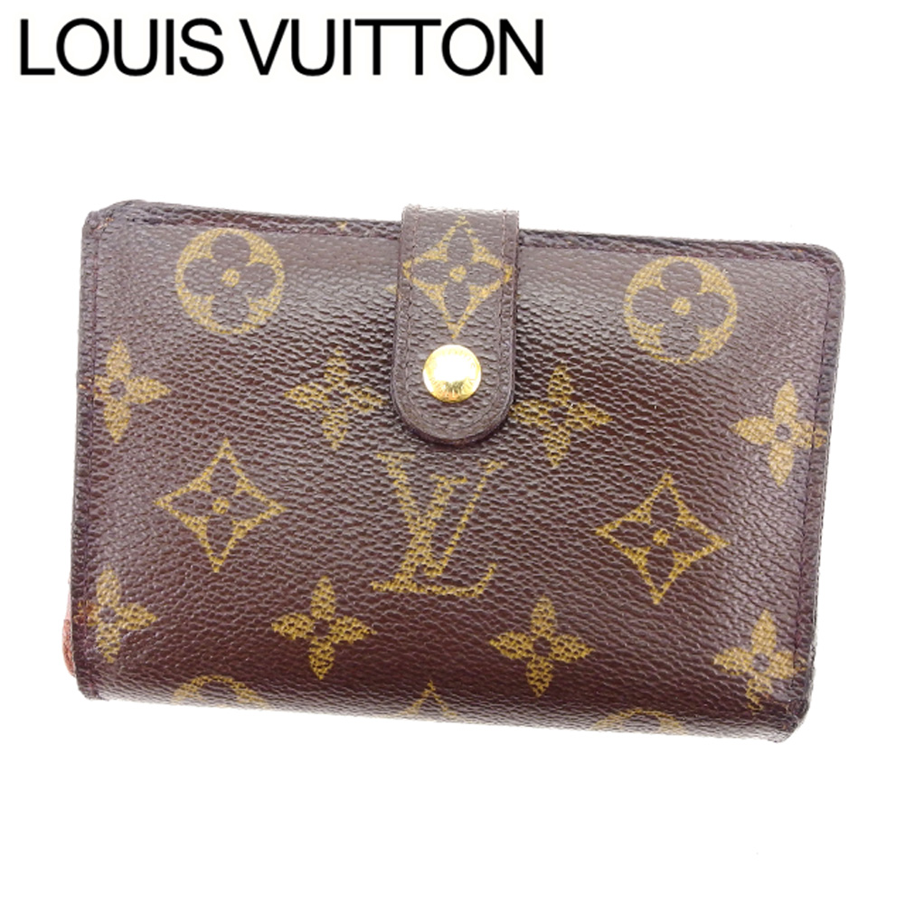 cheap for discount 744ac ccaed 限定セール!】 【中古】 ルイ ヴィトン LOUIS VUITTON がま口 ...