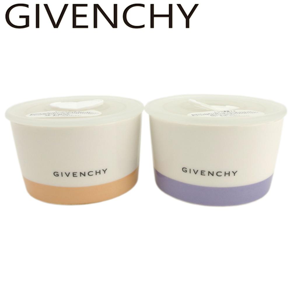 【中古】 ジバンシィ GIVENCHY 食器 ココット レディース メンズ ロゴ ホワイト 白 陶器 超美品 セール E1289