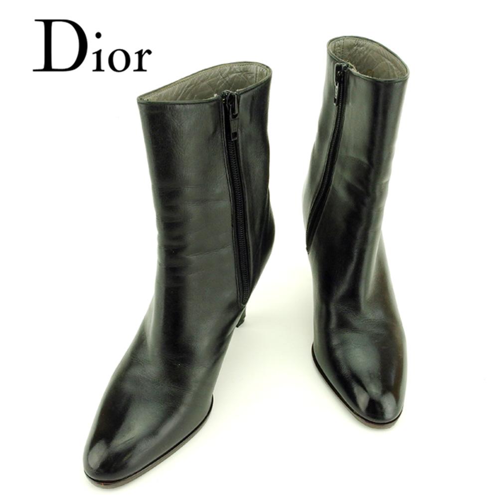timeless design 47350 ad437 超美品 【中古】 ディオール Dior ブーツ シューズ 靴 ...