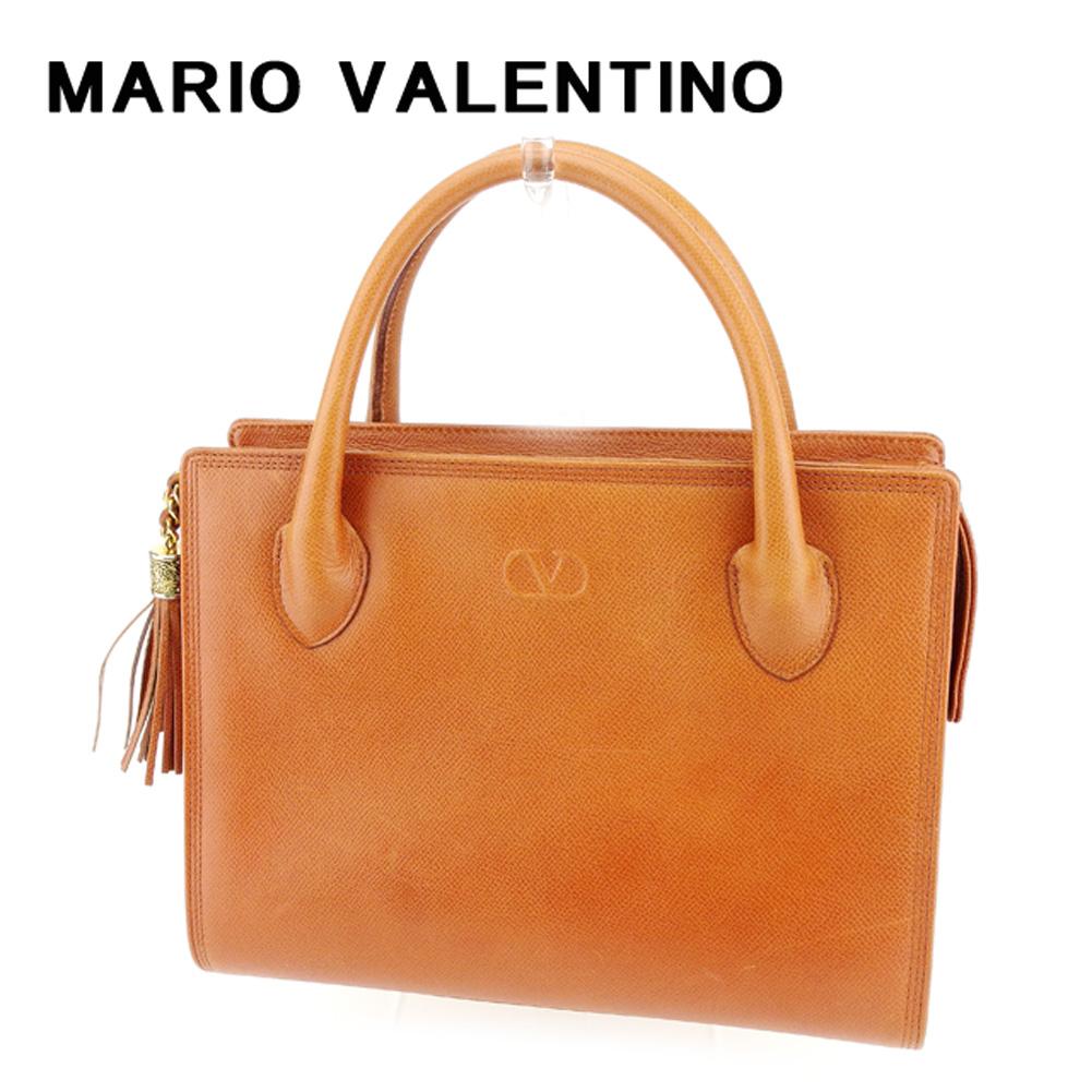 【中古】 Garavani ヴァレンティノ ガラバーニ Valentino Garavani バック ハンドバッグ バック ブラウン Valentino フリンジ レディース T7645s, LG生活健康海外直営店:3dc65cd6 --- jpworks.be