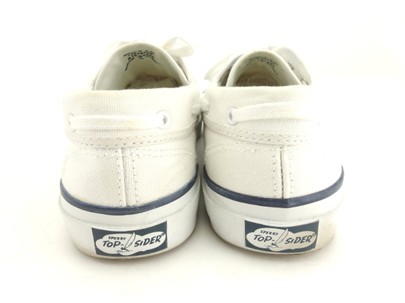 8af15b80a547 Sperry topsider Sperry Top-Sider sneakers shoes shoes men sea mate white  white navy canvas X rubber sneakers T7806s