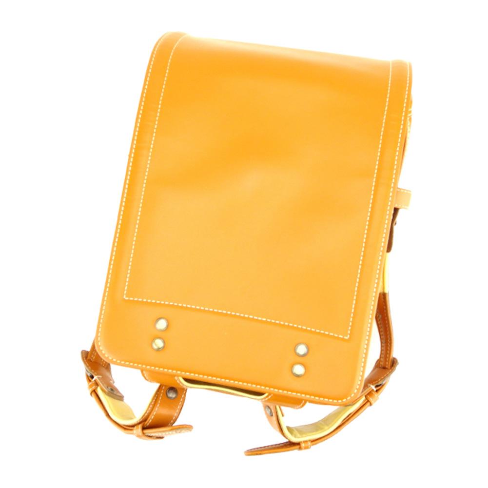 1a21e6b33225 Tsuchiya bag factory Japanese school bag school satchel girls Boys  Randoseru kids beige yellow leather popularity sale T7811