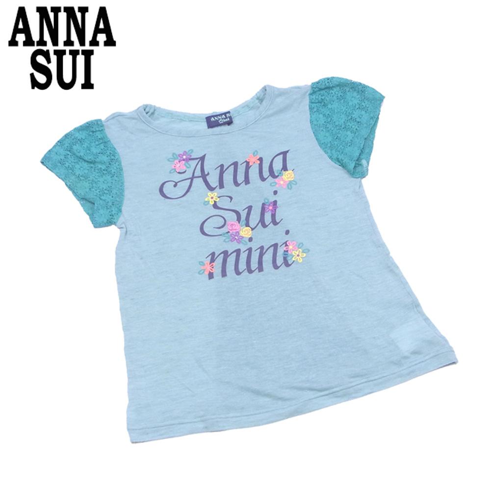 【中古】 アナスイ ミニ ANNA SUI mini Tシャツ カットソー タンクトップ ガールズ レディース キッズ4点セット Tシャツ T7894s
