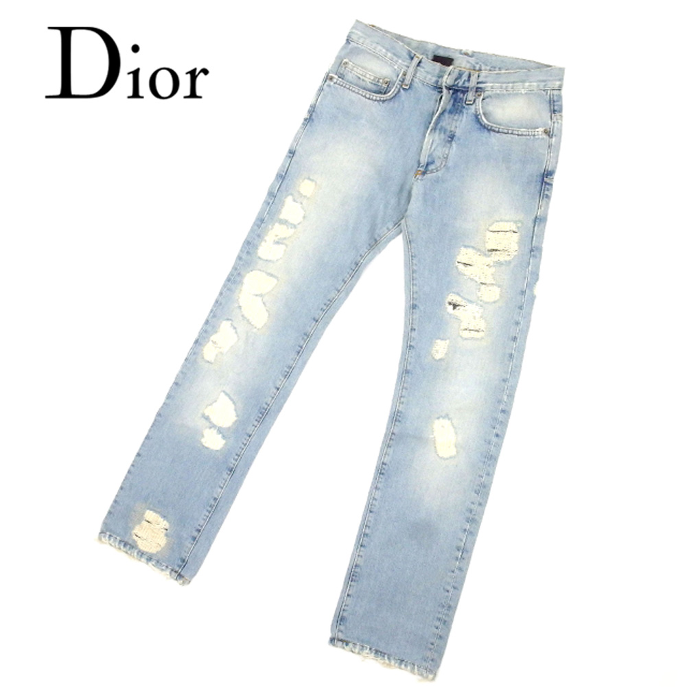 b1a49eef 100% of ディオールオム Dior Homme jeans straight underwear lady's men's possible ♯  26 size ...