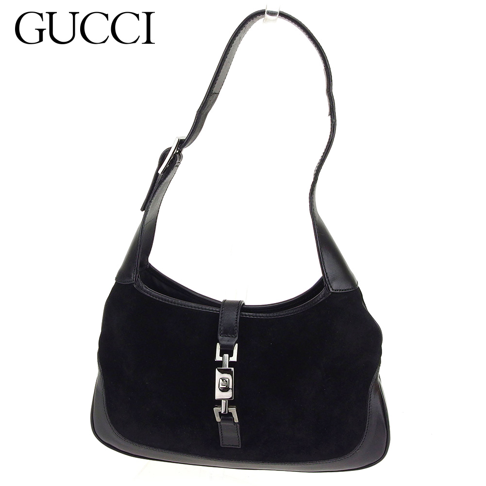 5a9d6282611d Gucci GUCCI shoulder bag one shoulder bag lady Jackie metal fittings  Brach's aide X leather popularity sale C3153