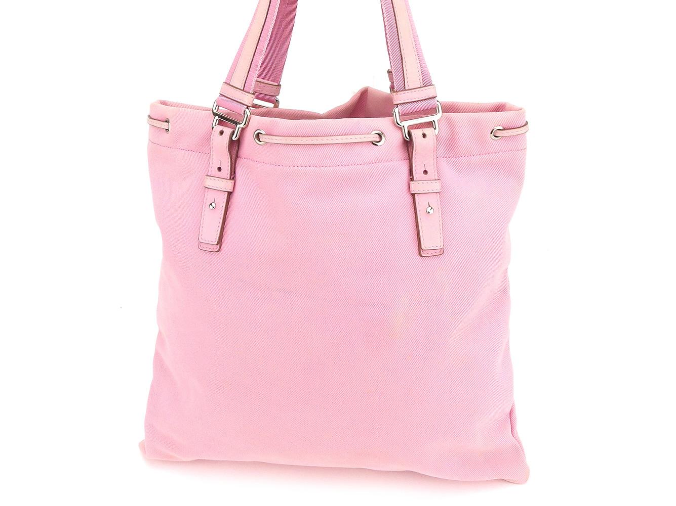 878a69181d5f Saint-Laurent SAINT LAURENT tote bag Thoth shoulder bag Lady s Kahara pink  silver canvas X leather popularity sale H580.