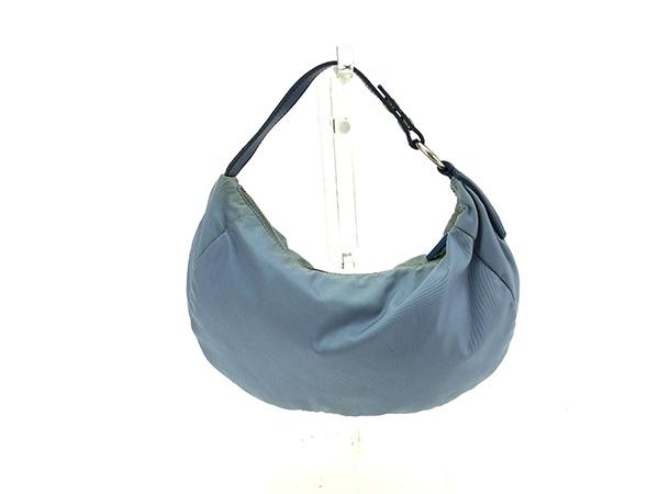 Miu Miu miu miu handbags pouch bag ladies logo blue   silver Nylon canvas    leather popular C2168 97cb1258ee9a2