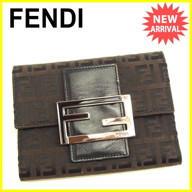 d92d2ce66d21 フェンディ FENDI 三つ折り財布 シャネル フェンディ 財布 ...