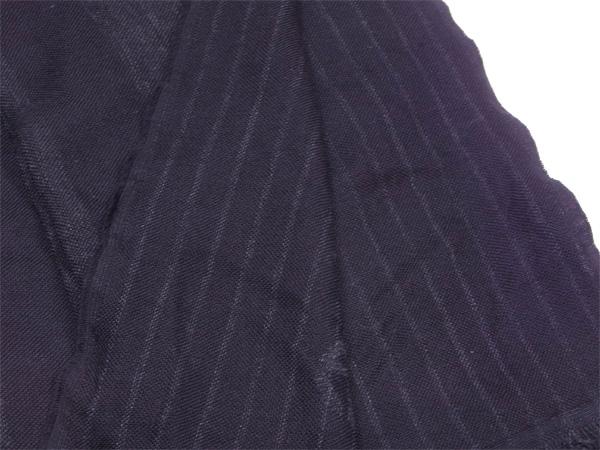 ジョルジオ アルマーニ GIORGIO ARMANI マフラー フリンジ付き メンズ ブラック ウール 100% L1198n0OPkw