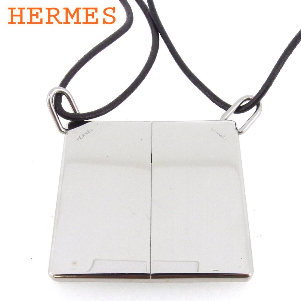 【中古】 エルメス ペア ペンダント アクセサリー レディース メンズ シルバー シルバー925 HERMES D2242 .
