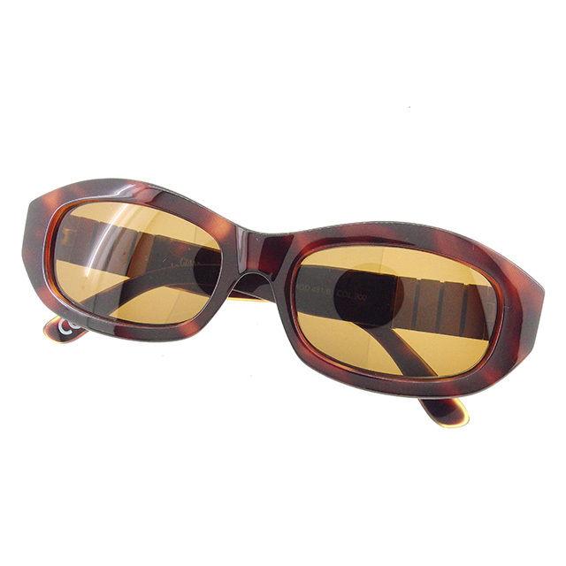 aa83e985fe302 Versace VERSACE sunglasses eyeware lady s men s possible Medusa brown X  gold A1411