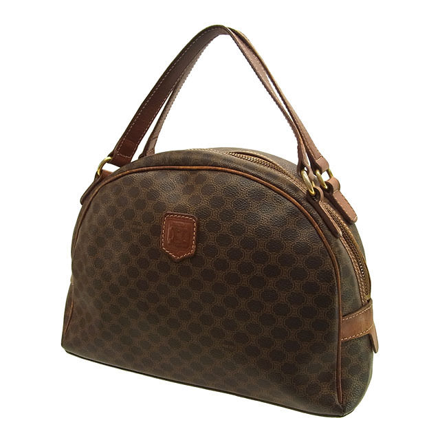 Celine CELINE handbags men allowed pleasing macadam Brown x Brown PVC    leather with cheap popular C1426 b3520b140cde3