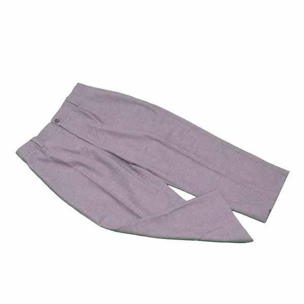 【値引きクーポン】 【中古】 ドルチェ&ガッバーナ DOLCE&GABBANA パンツ クロップド レディース ♯38サイズ ブラウン Cotton 55%Nylon 45% C3097 .