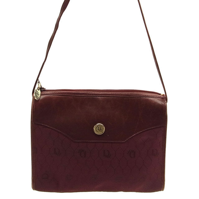 aa466474a9da (Vintage) (Correspondence) Christian-Dior  Christian Dior   shoulder bag    diagonal shoulder     Bordeaux   canvas   leather reference price ¥ C530