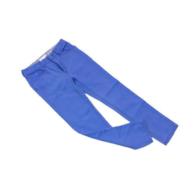 【中古】 バーバリー・チルドレン Burberry ジーンズ スキニー パンツ ブルー キッズ140・10Y デニム メンズ D959s