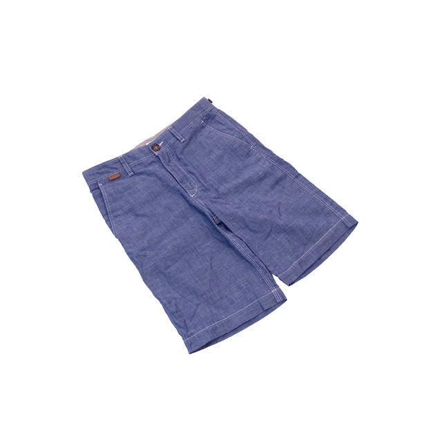 【中古】 バーバリー・チルドレン BURBERRY CHILDREN パンツ ハーフ丈 メンズ キッズ140・10Y ブルー D961