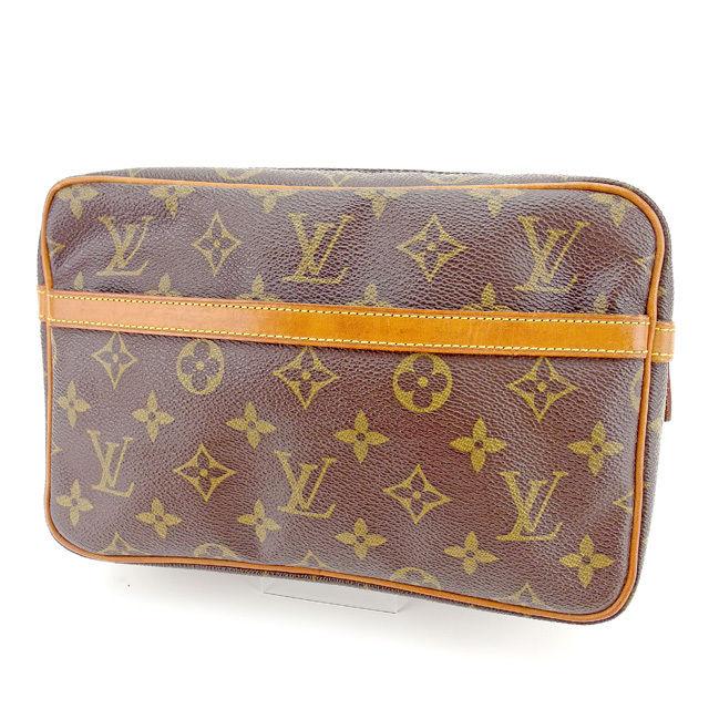 【中古】 ルイ ヴィトン クラッチバッグ Louis Vuitton ブラウン E1150s