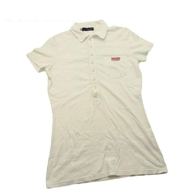 【値引きクーポン】 【中古】 ディースクエアード DSQUARED2 Tシャツ ポロシャツ レディース E281 .
