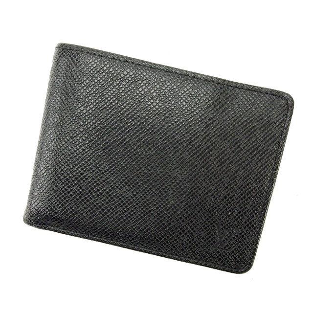 【中古】 ルイヴィトン Louis Vuitton 二つ折り札入れ レディース ポルトフォイユミュルティプル アルドワーズ E754
