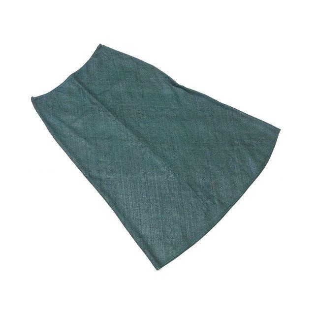 【値引きクーポン】 【中古】 プラダ PRADA スカート ヒザ丈 レディース ♯38サイズ グリーン F1014 .